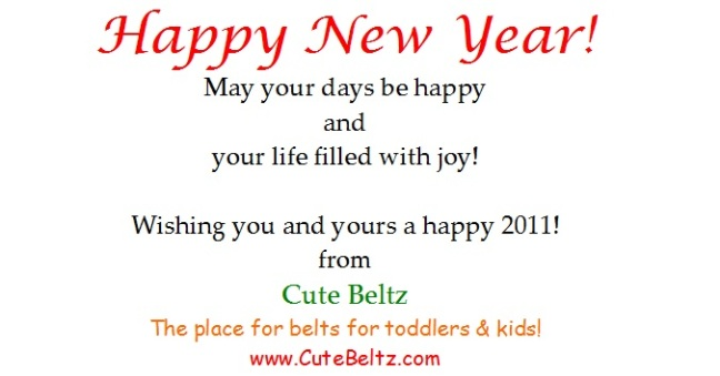 Happy New Year from Cute Beltz