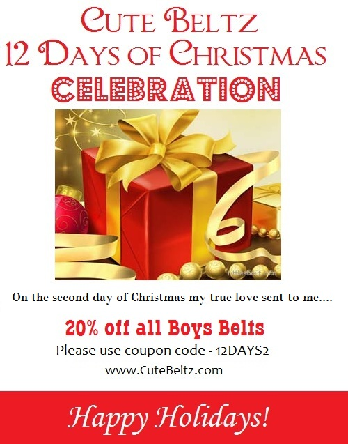 Cute Beltz 12 days of Christmas Celebration