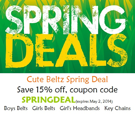 Cute Beltz Spring Sale