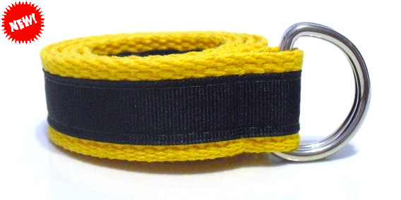 Cute Beltz Blue & Gold Kids Belt