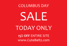 Cute Beltz Columbus Day Sale