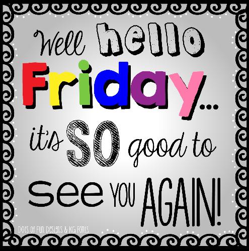 Hello Friday - Cute Beltz