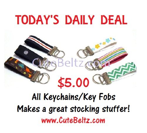 12 days of christmas deal _ key fobs _ cute beltz
