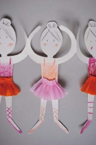 ballerina doll chain
