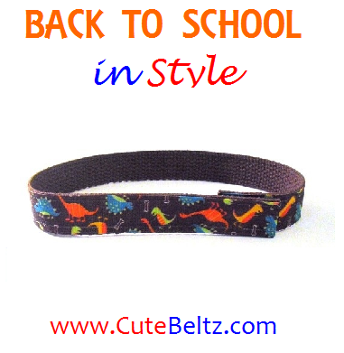 Cute Beltz Dinosaur Boys Belt